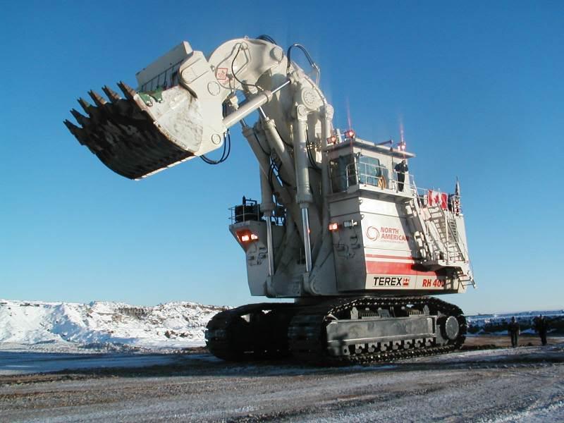 Största grävmaskinen i världen