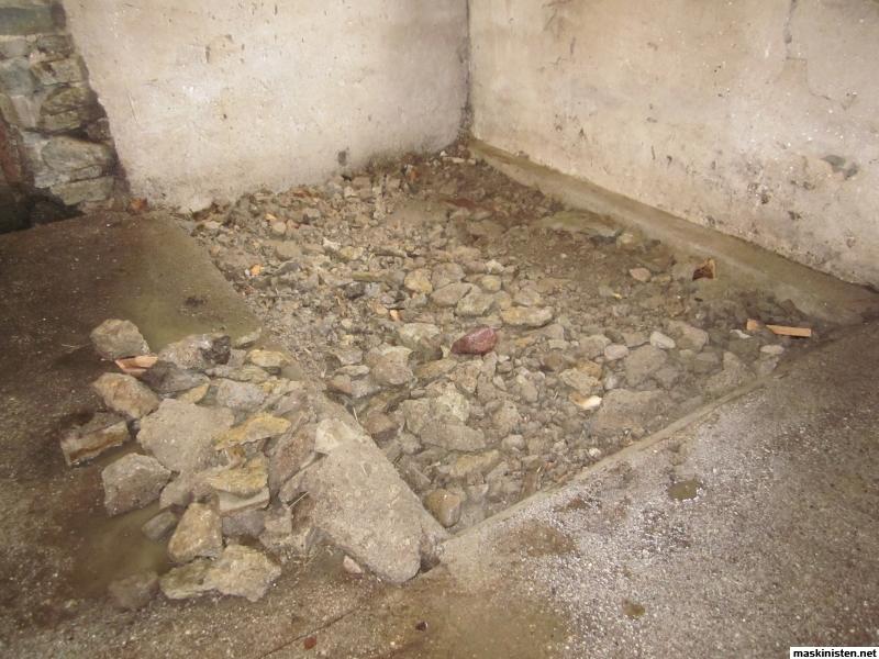 cement sand blandning