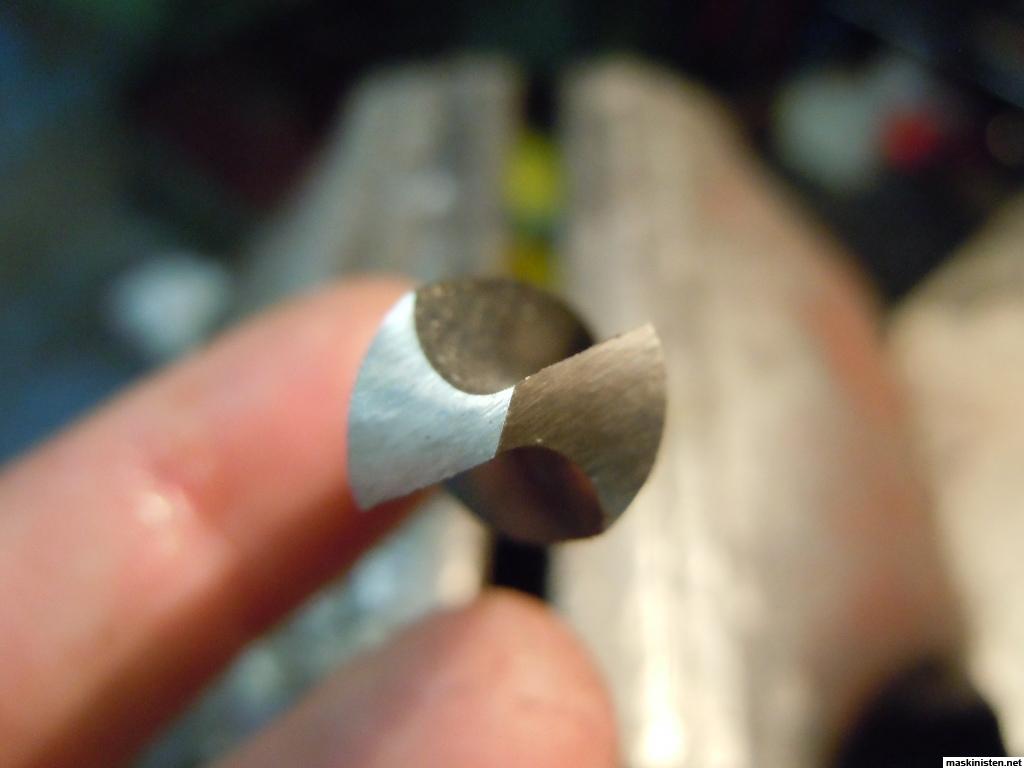 slipa borr för hand