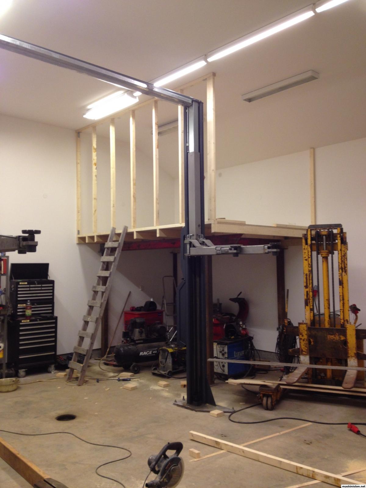 bygga verkstad garage