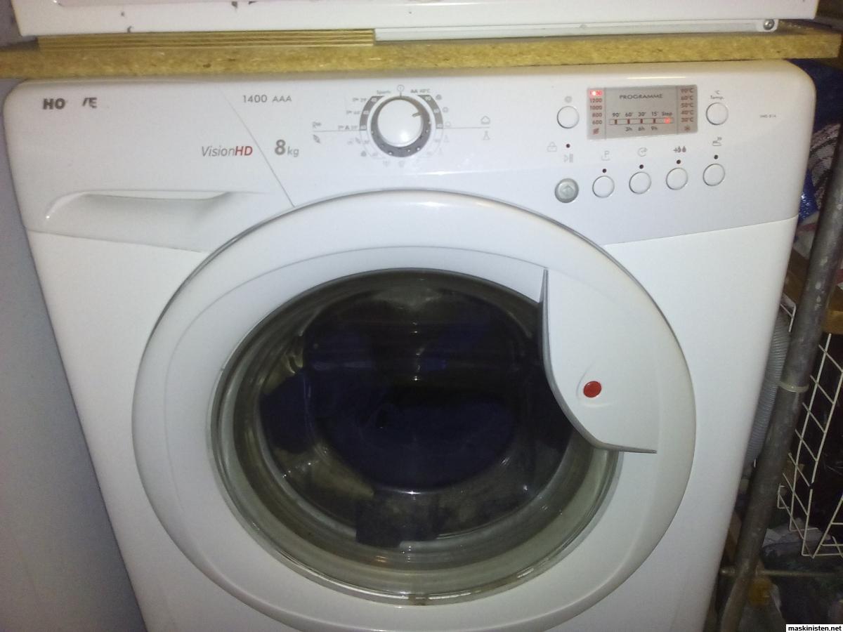 Displayfel pÃ¥ tvättmaskin • Maskinisten
