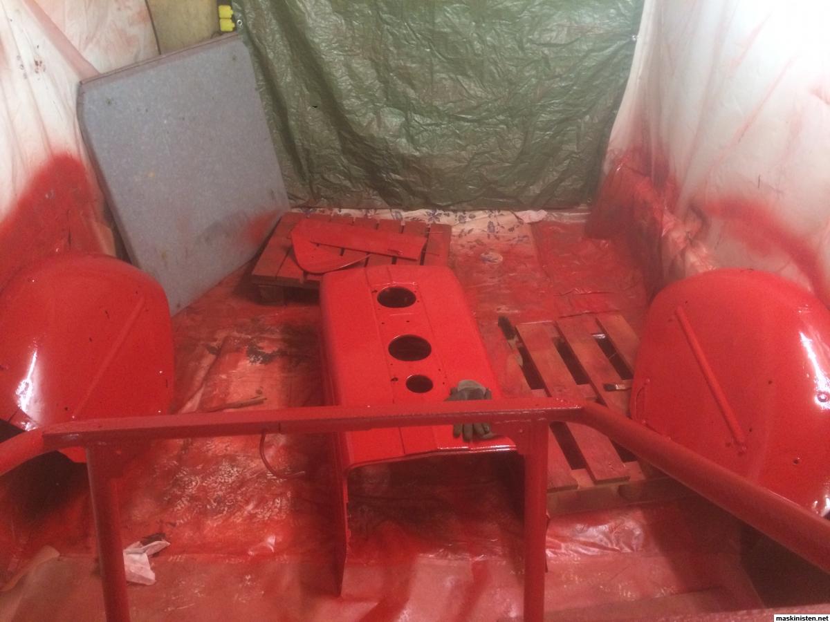 Måla Traktor, Vilken Färg? U2022 Maskinisten