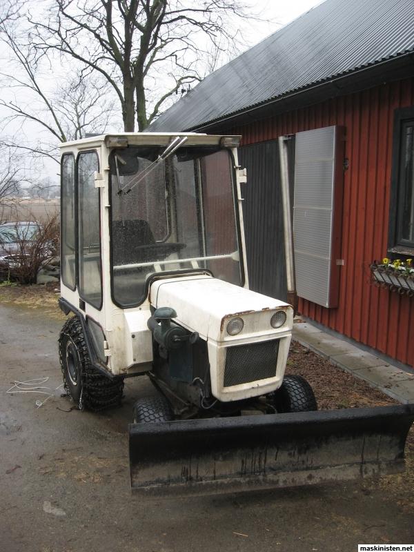 Göra styrservo till en minitraktor Bolens HT 23 • Maskinisten