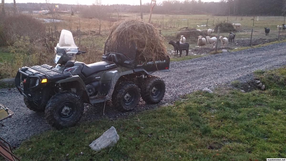 Atv Med Plog Vs Traktor Med Plog Maskinisten