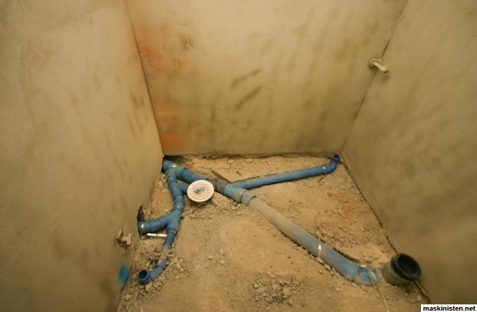 NÃ¥gra frÃ¥gor om golvbrunn, avlopp, purusplatta mm. • Maskinisten