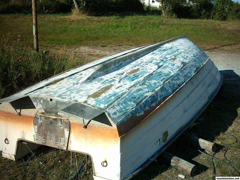 laga båt med glasfiber