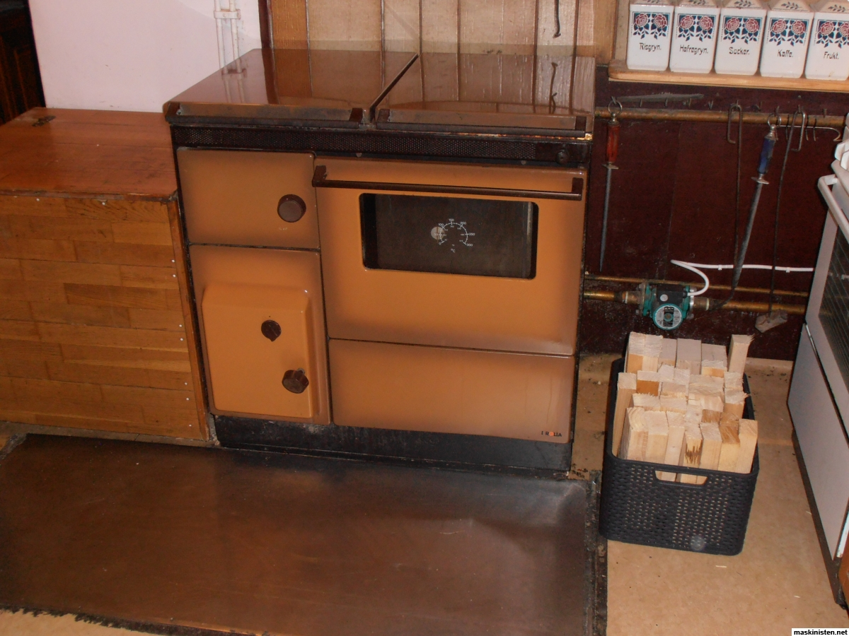 Luft/vatten värmepump • Maskinisten : värmepumpar luft vatten : Inredning