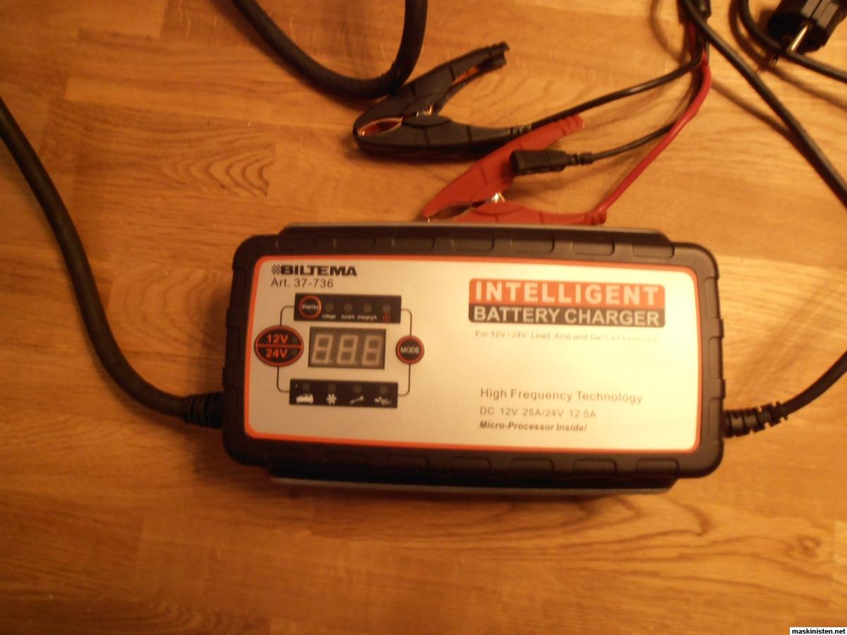 Batteriladdare ctek biltema