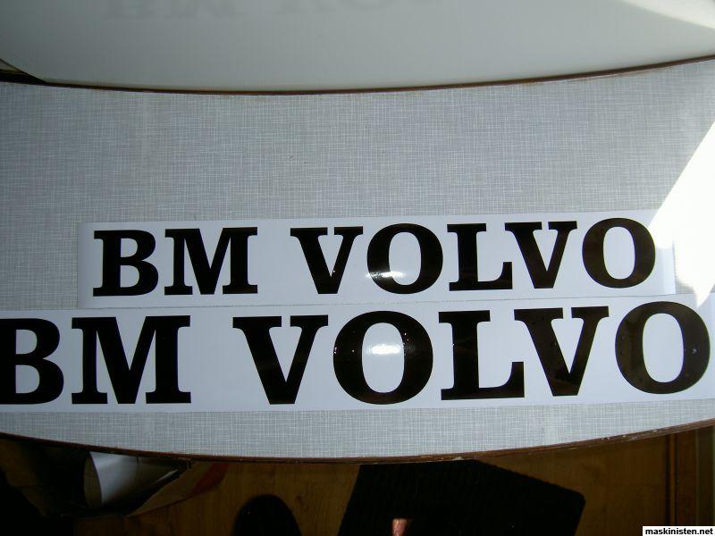 Volvo Skid Steer >> BM VOLVO Dekaler • Maskinisten