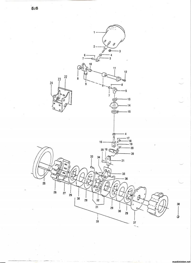 varmg u00e5ng i bakaxel p u00e5 mattsson 161a  u2022 maskinisten