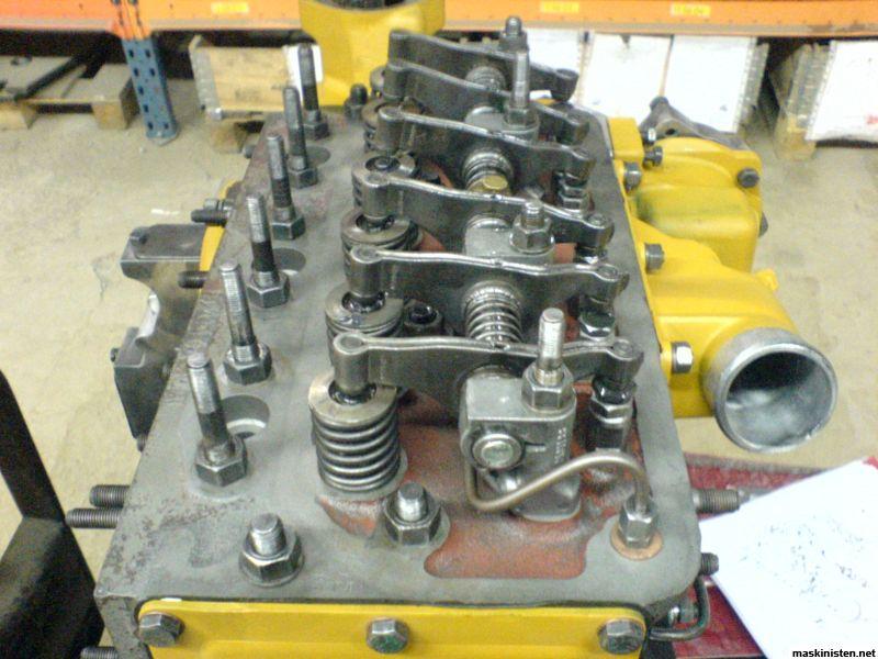 Totalrenovering av mf35 maskinisten for Electric motor repair reno nv