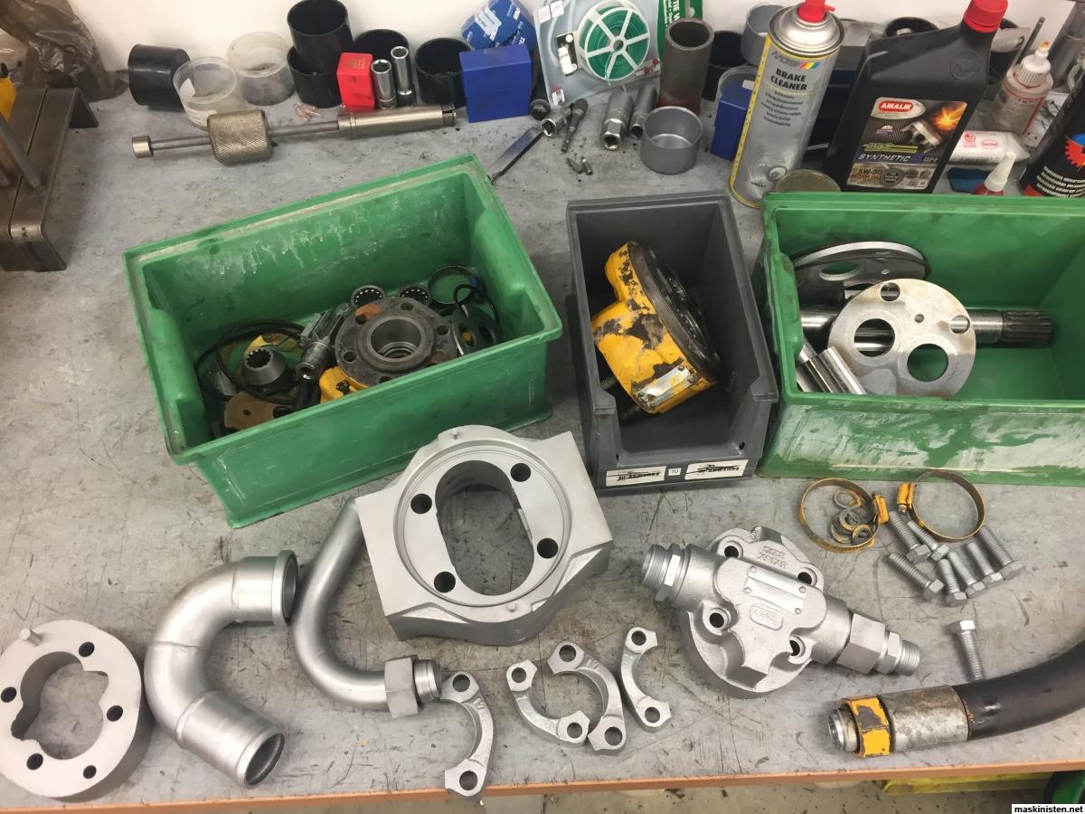 Hydraulpumpar 4300 • Maskinisten