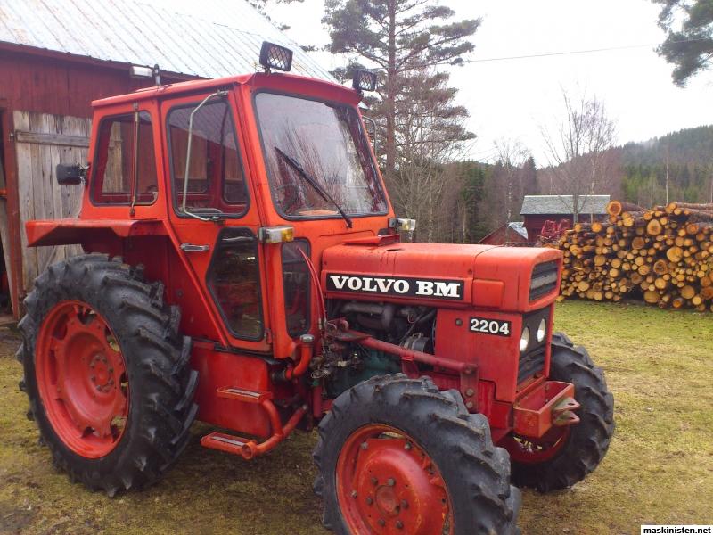 Volvo Bm 500 2204 2254 Eller N 229 N Ih Med Samma Bak 228 Nda Hur