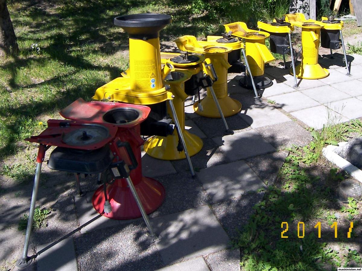 Kompostkvarn, flistugg, AEG, ALKO, m.fl. • Maskinisten
