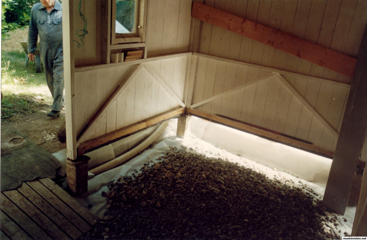 Inredning gjuta platta garage : Gjuta igen torpargrund????? • Maskinisten