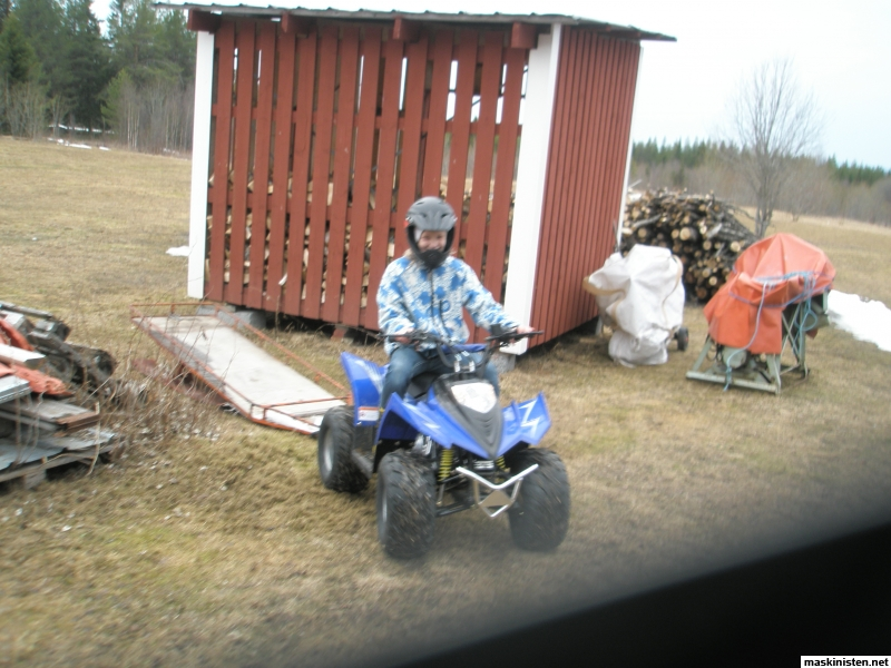 Jula fyrhjuling u2022 Maskinisten