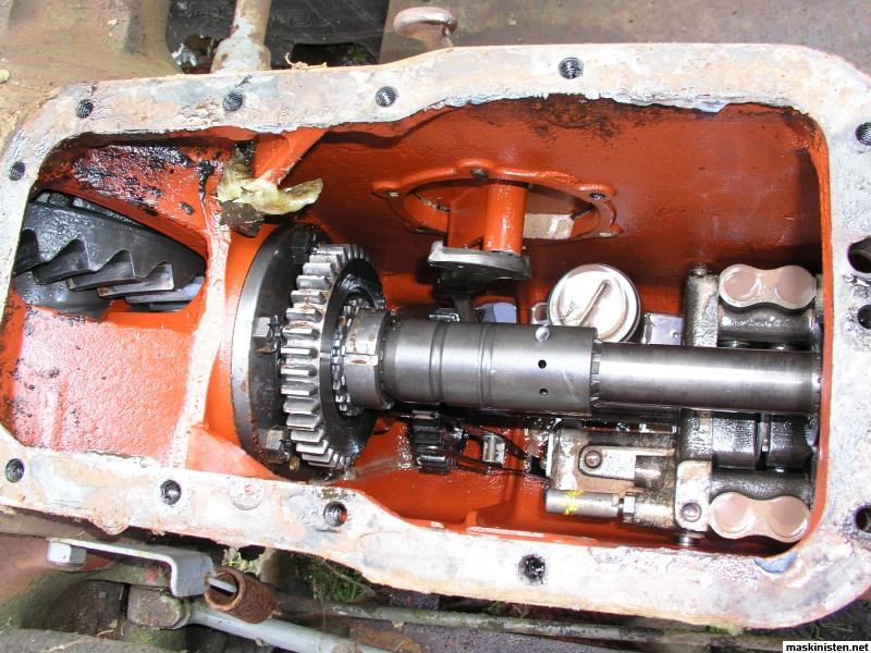 Massey Ferguson 175 Hydraulic Problem : Hydraulik ur funktion på mf maskinisten