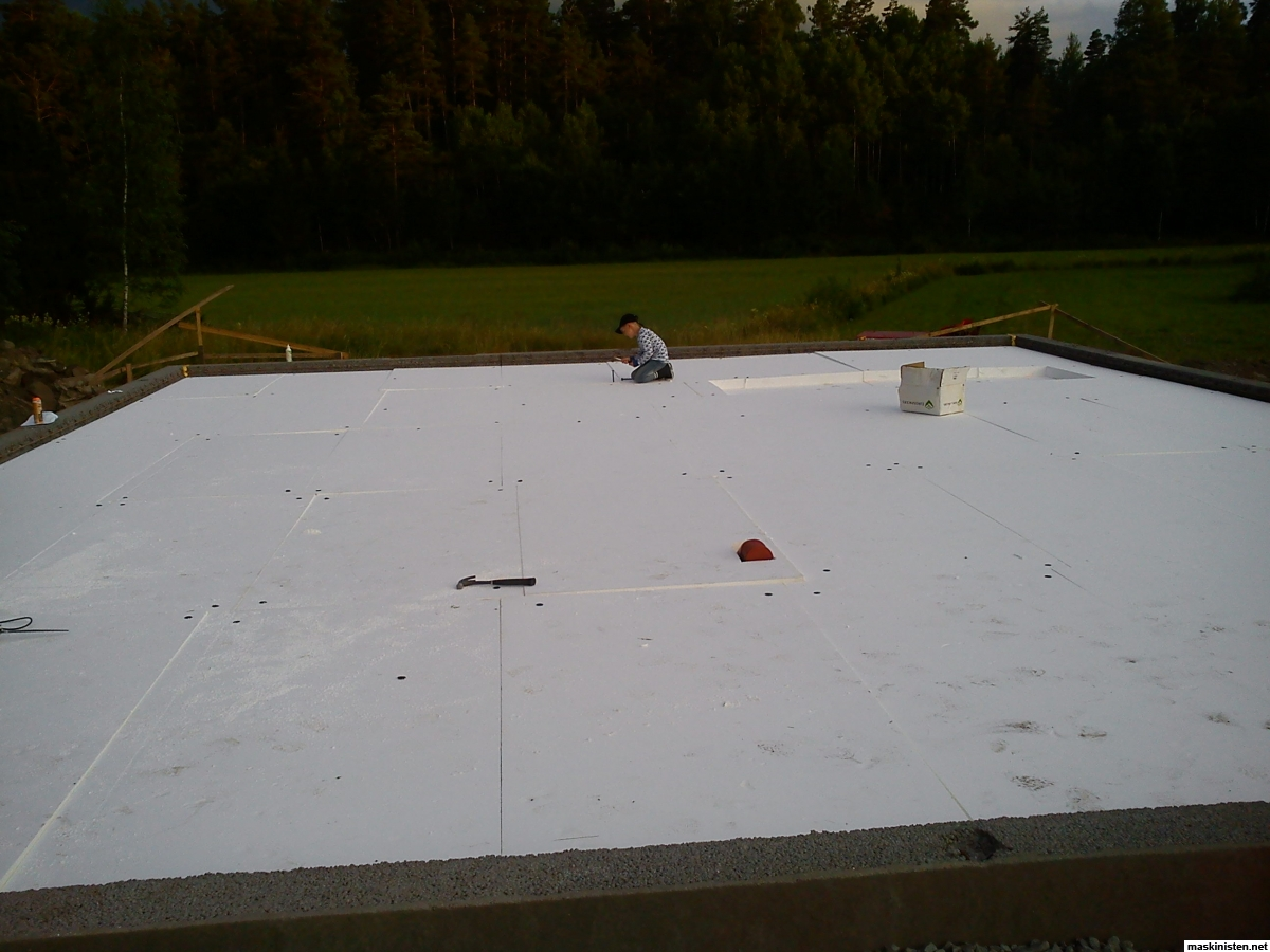 Inredning gjuta platta garage : Ny verkstad/garage/maskinhall • Maskinisten