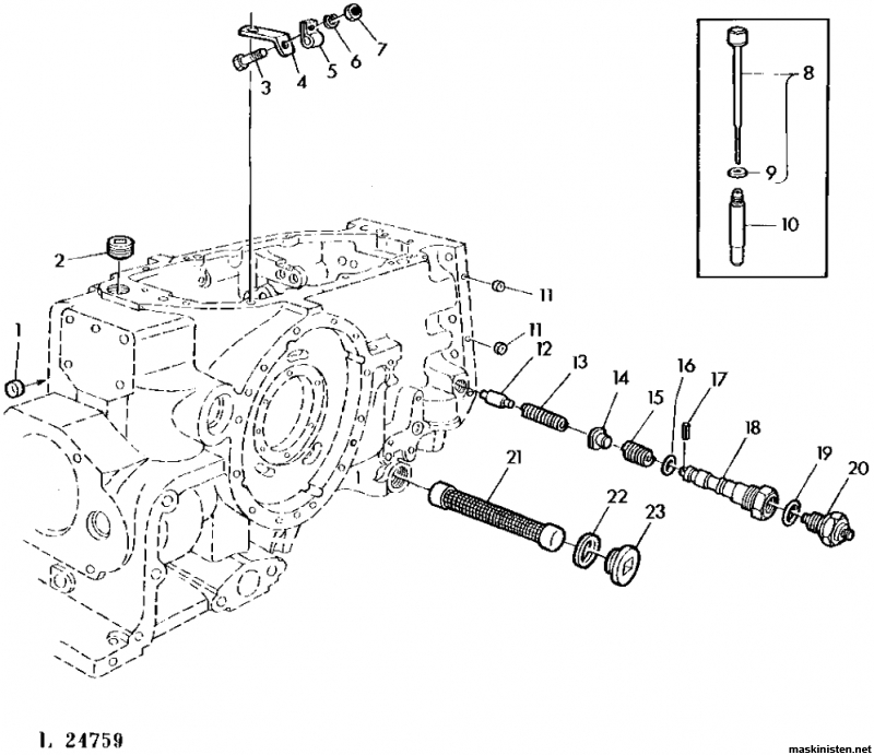 john deere 2030 hydraulic diagram