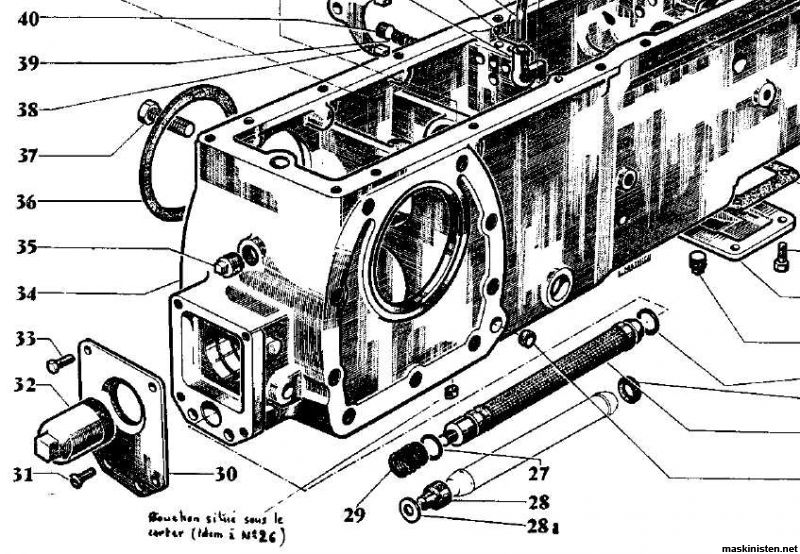 1964 thunderbird vacuum diagram