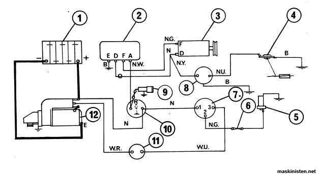 Generator problem Mf 135     Maskinisten