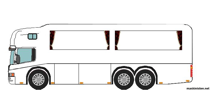Lastbilar Ritade I Paint Maskinisten