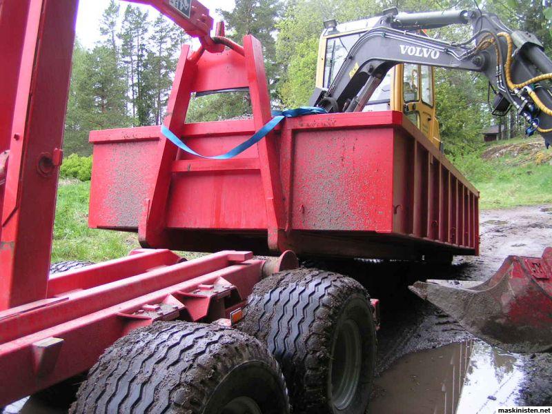 DR klarar balar med en vikt upp till 1000 kg och en diameter upp till 200 cm.